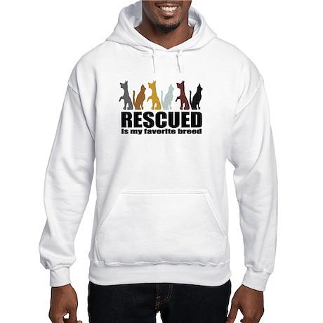 Rescued Hooded Sweatshirt