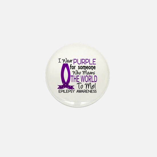 Means World To Me 1 Epilepsy Shirts Mini Button (1