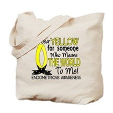 Means World To Me 1 Endometriosis Shirts Tote Bag