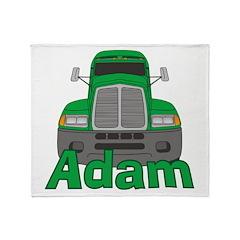 Trucker Adam Throw Blanket