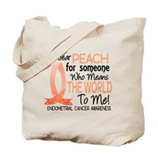 Means World To Me 1 Endometrial Cancer Shirts Tote