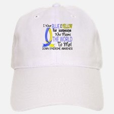 Means World To Me 1 Down Syndrome Shirts Baseball Baseball Cap