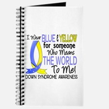 Means World To Me 1 Down Syndrome Shirts Journal