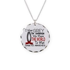 Means World To Me 1 Diabetes Shirts Necklace
