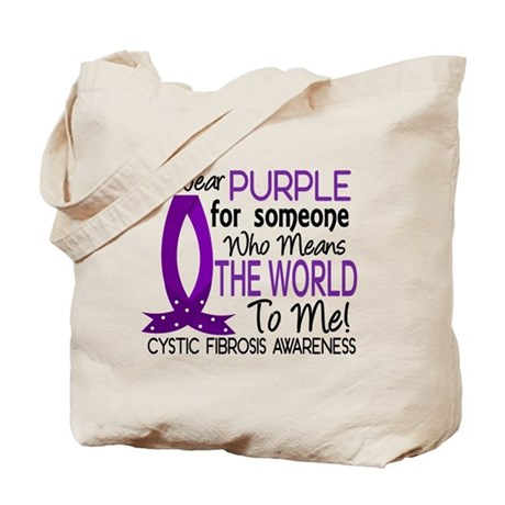 Means World To Me 1 Cystic Fibrosis Shirts Tote Ba
