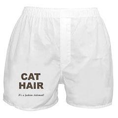 Cat Hair Fashion Boxer Shorts
