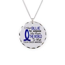 Means World To Me 1 Colon Cancer Shirts Necklace