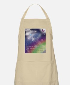 Hope believes in the dream. BBQ Apron