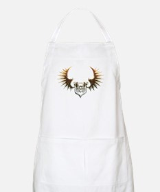 Industrial curved bat (gold) Apron