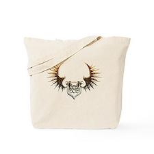 Industrial curved bat (gold) Tote Bag