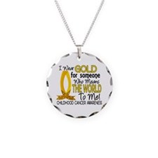 Means World To Me 1 Childhood Cancer Shirts Neckla