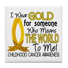 Means World To Me 1 Childhood Cancer Shirts Tile C