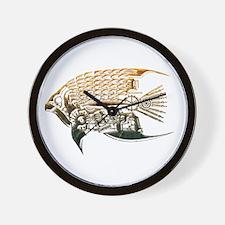 Industrial fish Wall Clock