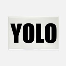 YOLO (You Only Live Once) Rectangle Magnet