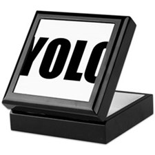YOLO (You Only Live Once) Keepsake Box