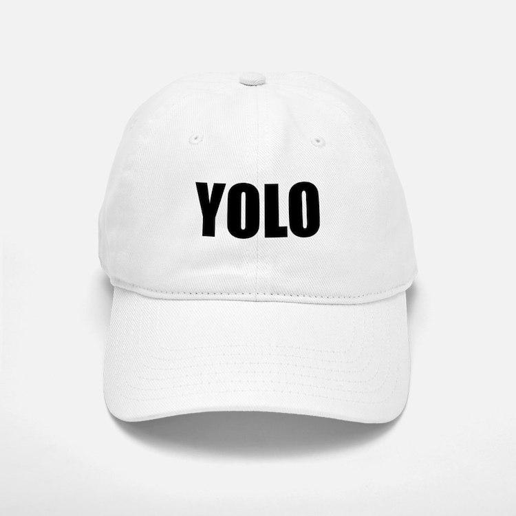 YOLO (You Only Live Once) Baseball Baseball Cap