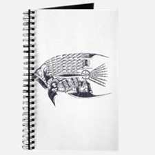 Industrial fish (silver) Journal