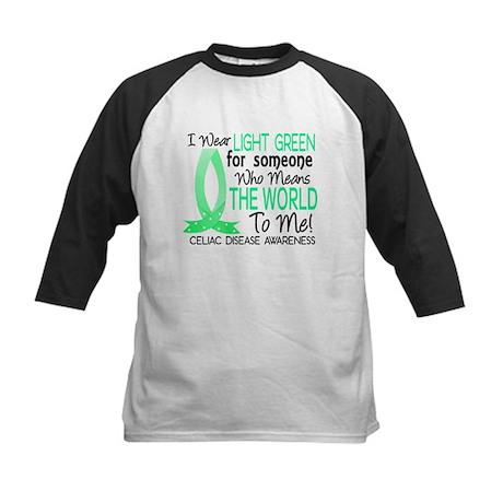 Means World To Me 1 Celiac Disease Shirts Kids Bas
