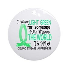 Means World To Me 1 Celiac Disease Shirts Ornament