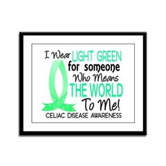 Means World To Me 1 Celiac Disease Shirts Framed P