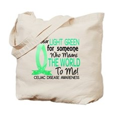 Means World To Me 1 Celiac Disease Shirts Tote Bag