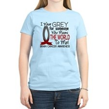 Means World To Me 1 Brain Cancer Shirts T-Shirt