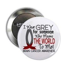 """Means World To Me 1 Brain Cancer Shirts 2.25"""" Butt"""