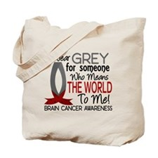Means World To Me 1 Brain Cancer Shirts Tote Bag