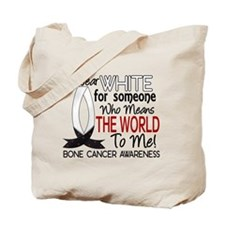 Means World To Me 1 Bone Cancer Shirts Tote Bag