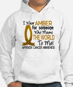 Means World To Me 1 Appendix Cancer Shirts Hoodie