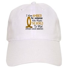 Means World To Me 1 Appendix Cancer Shirts Baseball Cap