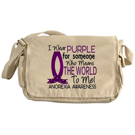 Means World To Me 1 Anorexia Shirts Messenger Bag