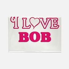 I Love Bob Magnets