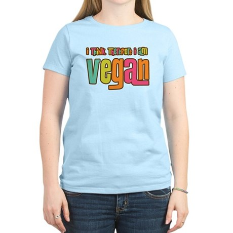 Think Vegan Women's Light T-Shirt