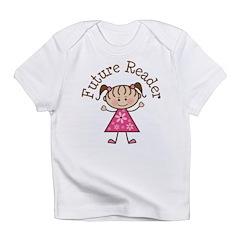 Future Reader Girl Infant T-Shirt