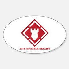 SSI - 20th Engineer Brigade with Text Decal