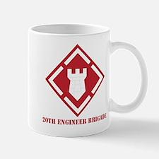 SSI - 20th Engineer Brigade with Text Mug