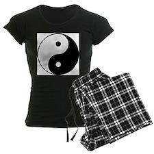 Yin & Yang (Black/White) Pajamas