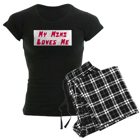 My Mimi Loves Me! (Pink) Women's Dark Pajamas