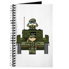 Army Soldiers in Tank Journal