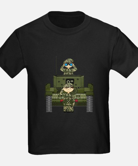 Army Soldiers and Tank T