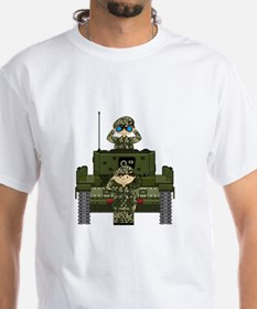 Army Soldiers and Tank Shirt