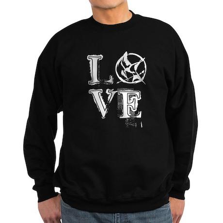 Hunger Games Love Sweatshirt (dark)