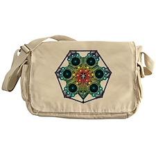 Tessalarian SnowFlake Messenger Bag