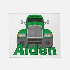 Trucker Aiden Throw Blanket
