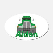 Trucker Aiden 22x14 Oval Wall Peel