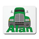 Trucker Alan Mousepad