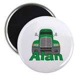 Trucker Alan Magnet