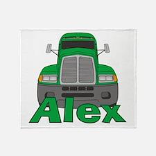 Trucker Alex Throw Blanket