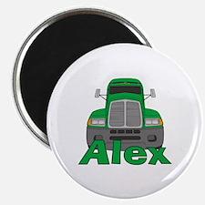 Trucker Alex Magnet